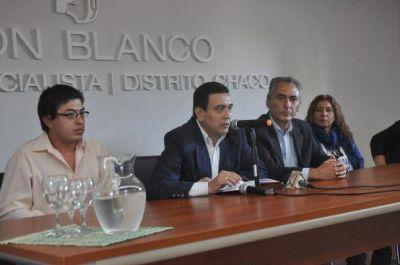El exintendente de Santa Sylvina presentó su candidatura a diputado provincial