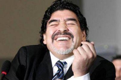 Maradona le gan� un juicio a una empresa china que us� su imagen