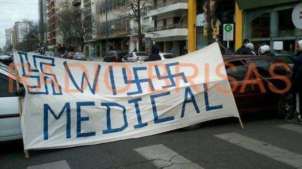 Protesta de estibadores del puerto en Colón y Catamarca