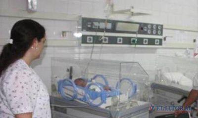 La mamá de la beba no sabía que estaba embarazada