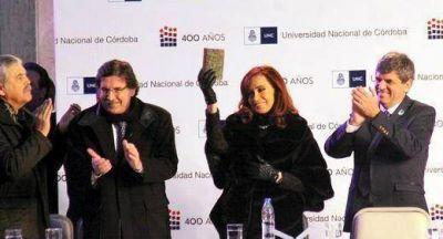 Cristina: Quiero que Córdoba vuelva a ser lo que alguna vez fue