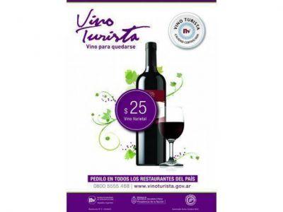 Detectaron que un restaurante adulteró el afiche del Vino Turista para cobrarlo más caro