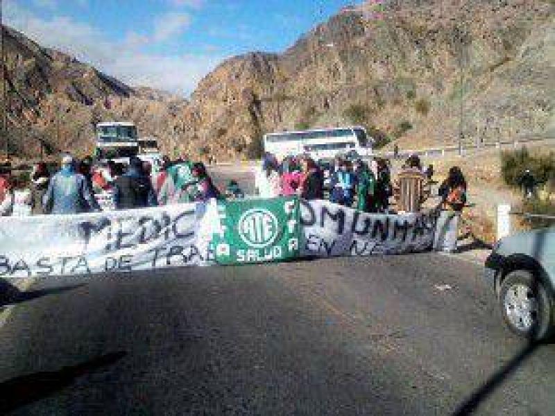 Con gran acatamiento: se realizó una nueva jornada de lucha de los estatales de Jujuy