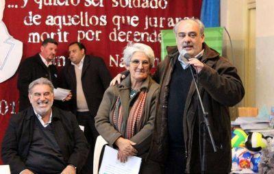 El gobernador inauguró obras que mejoran la calidad de vida de los habitantes de zona rural