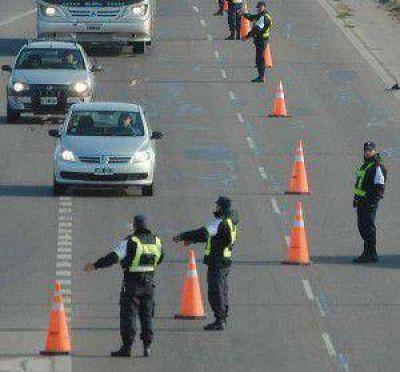 En control vehicular: secuestran 19 motocicletas