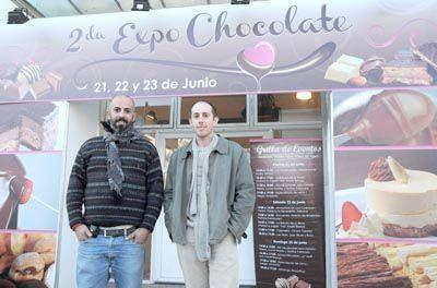 Expo Chocolate en la Plaza del Agua