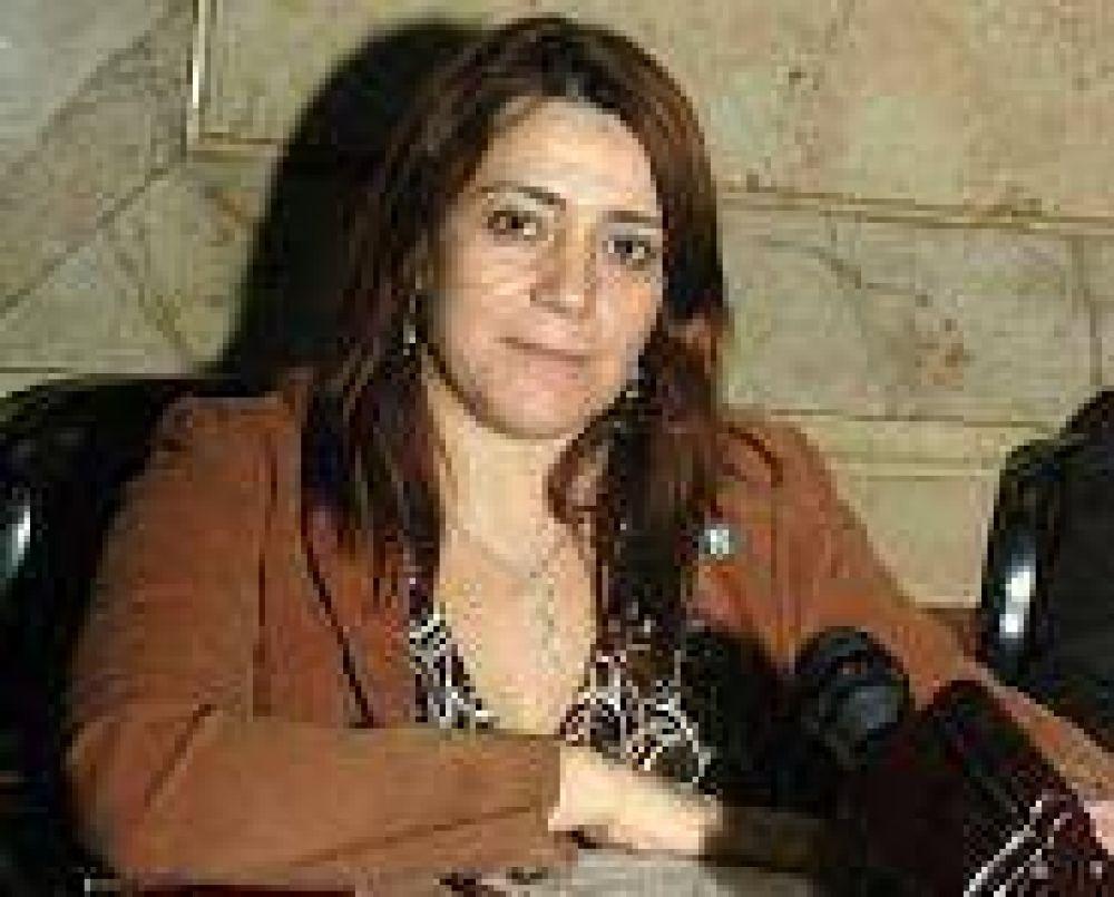 Adriana García acordó ir junto a Matzkin