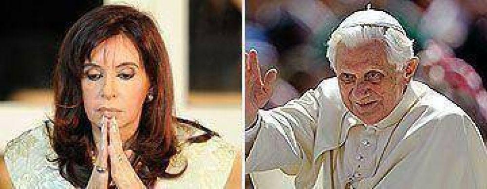 El Papa recibirá a Cristina en el Vaticano