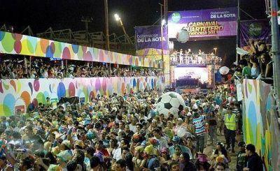 """De la Sota prepara """"tríos eléctricos"""" propios para un nuevo Carnaval Cuartetero en 2014"""