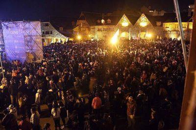 20 mil personas en el cierre de la Fiesta de la Nieve