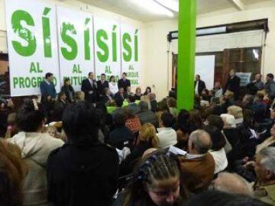 El Intendente Camilo Etchevarren presentó la lista y los candidatos son…