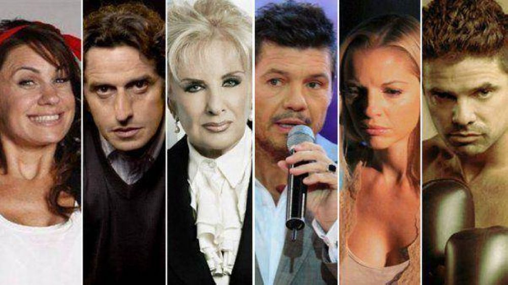 Todos los nominados a los Martín Fierro