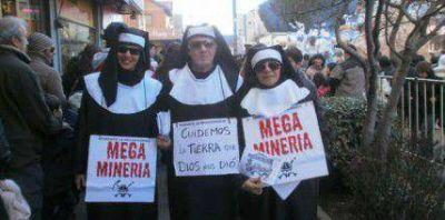 Se expresaron contra la megaminería en la Fiesta de la Nieve
