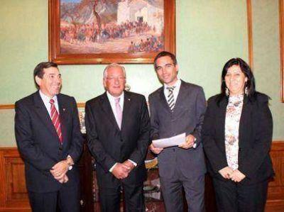 Luis Paternó fue designado Director Provincial de Prensa