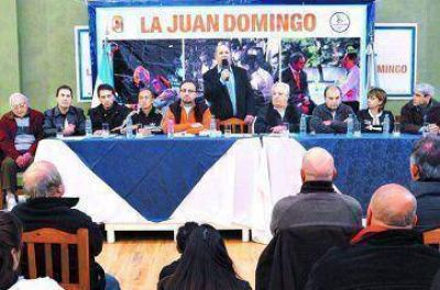 La Juan Domingo: duelo, silencio y reclamos