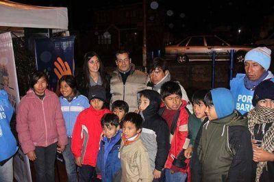 """El programa comunitario """"por mi barrio"""" visitó barrio Chijra"""