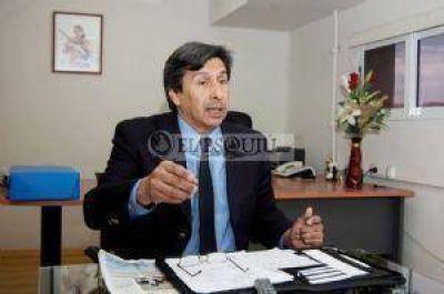 Romero defendió la obra eléctrica por la Cuesta del Portezuelo