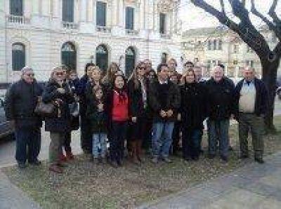 Unión Progresista Bragadense presentó sus candidatos en la plaza