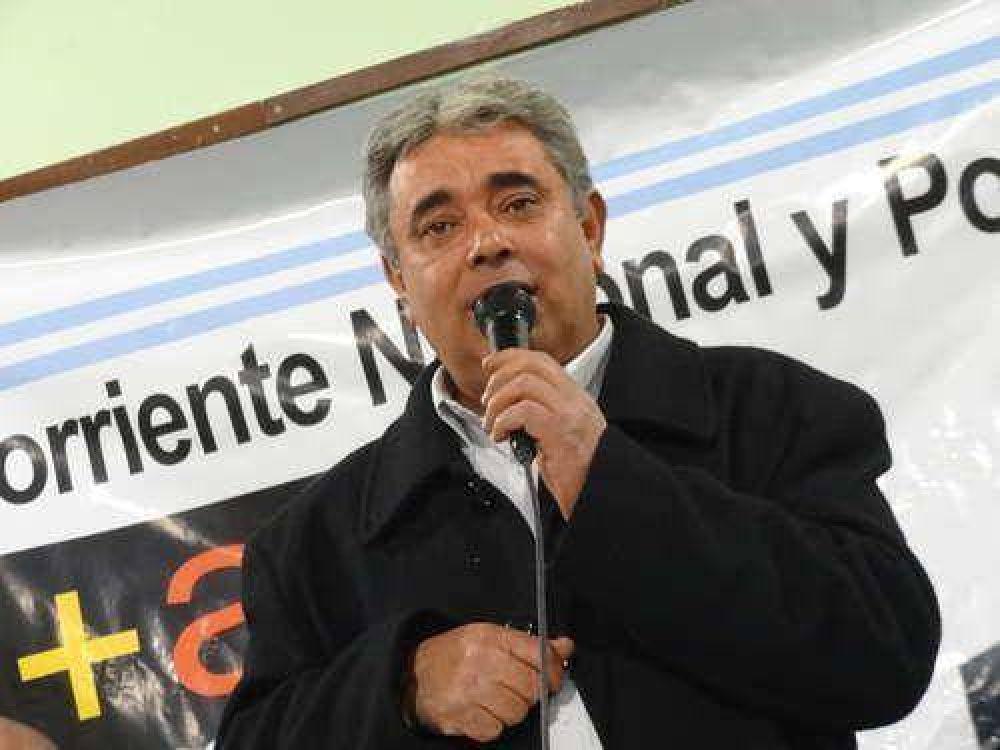 Sergio Mengual presentó lista de candidatos
