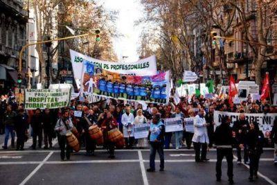 Realizaron una marcha a dos meses de la represión en el Borda