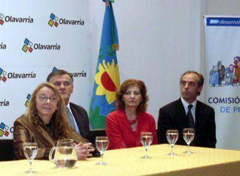 Alicia Kirchner pasó por Olavarría