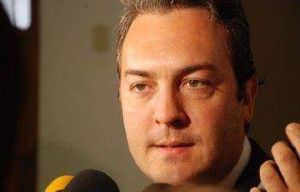 """En La Plata, hablan de """"presión"""" para que Breitenstein sea candidato"""