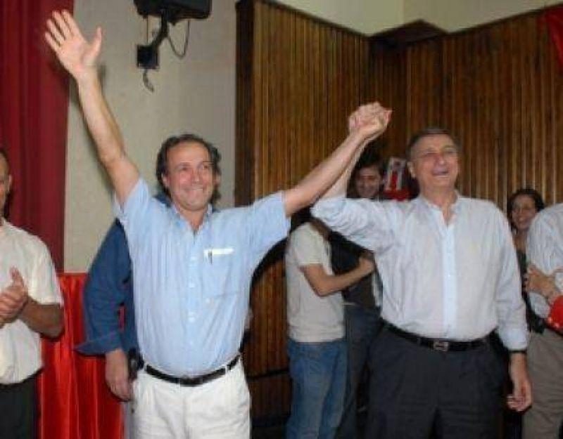 Hermes Binner va a hacer campaña junto a Giustiniani