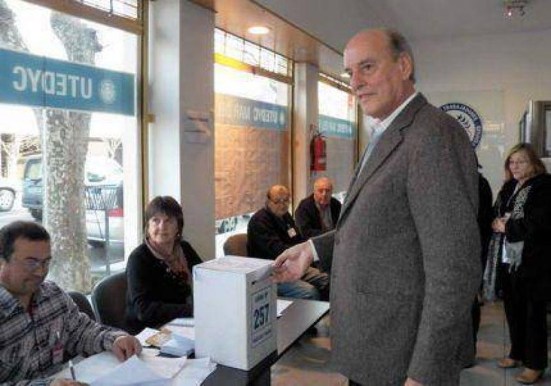 Carlos Bonjour, con el aval masivo de los afiliados encara su tercer mandato en UTEDYC