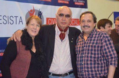 Gorosito estuvo en la presentación para la Séptima Sección Electoral de la Lista Provincial del Frente Progresista Cívico y Social