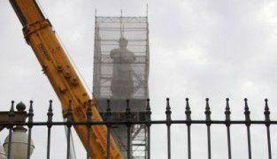 Ciudad demandará penalmente a Nación por el Monumento a Colón