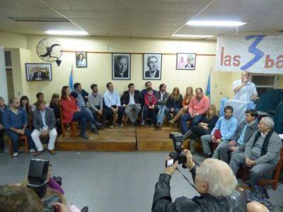 Presentación de lista de Concejales y Consejeros Escolares del FPV/PJ para las PASO del 11 de agosto