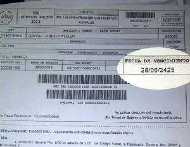 ATM: Sitea denuncia problemas en la emisión de facturas