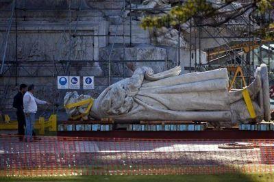 """Horacio Rodríguez Larreta sobre el monumento a Colón: """"Se cagaron olímpicamente en la orden del juez"""""""