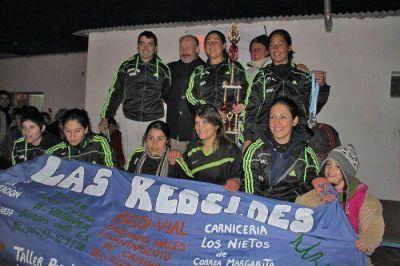 El Gobierno Municipal junto al fútbol femenino en Monte Viggiano