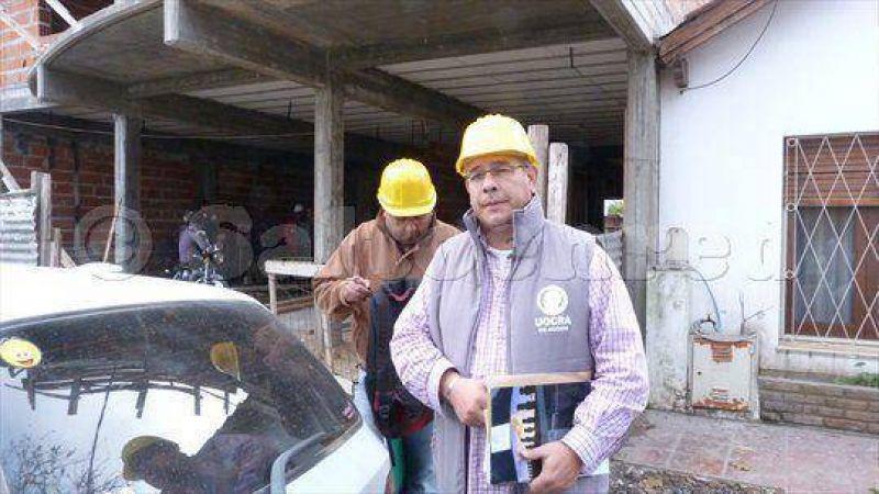 Muchas obras en construcción poco control con los obreros