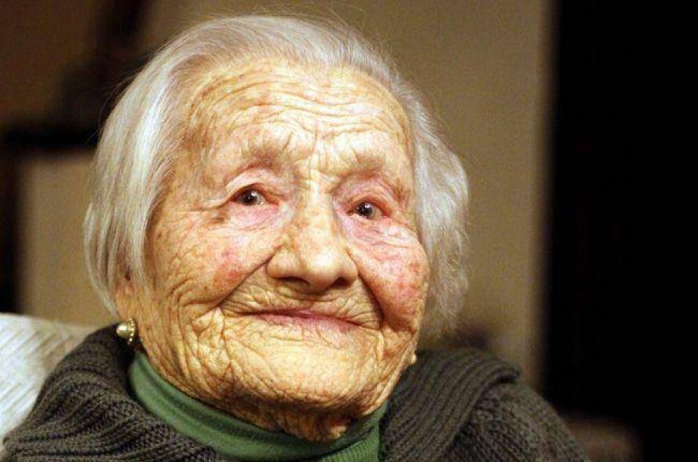 Luisa Roncoroni, 110 años de vitalidad