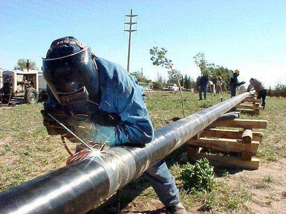 Más gas natural para Juana Koslay