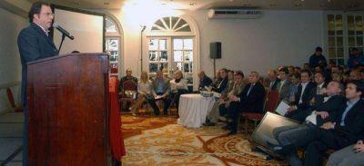 Giustozzi anunció que el Frente Renovador buscará que vuelva el fondo del conurbano