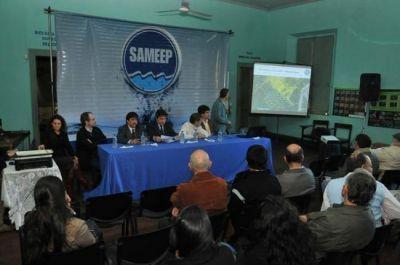 Realizaron audiencia pública por el Plan Director de Cloacas para el Area Metropolitana