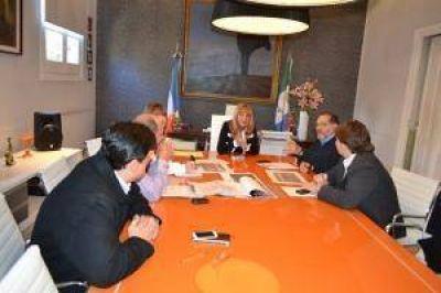 Resistencia y Fontana acordaron una agenda conjunta de trabajo para obras de infraestructura
