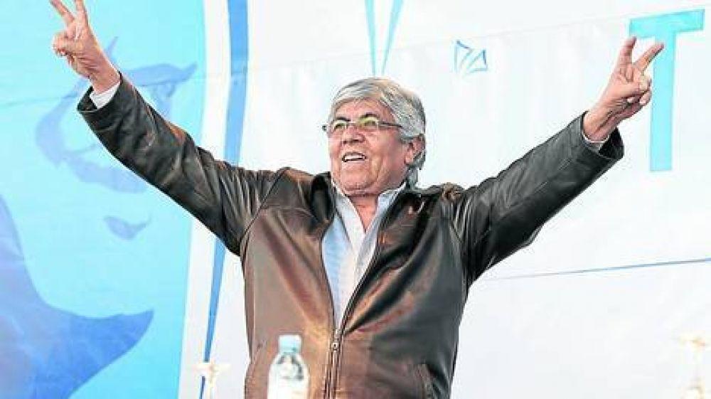 "En campaña, Moyano cuestionó la ""década ganada"" kirchnerista"