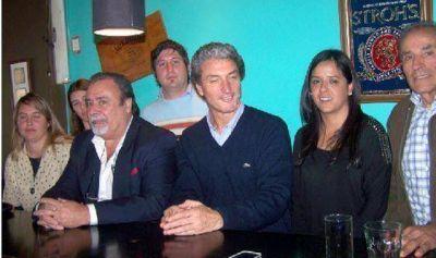 """""""Pepe"""" Scioli confirm� que la �nica lista local es la encabezada por Luayza, Morales"""