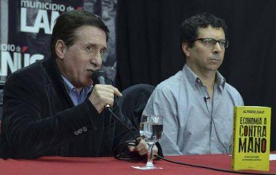 EL ECONOMISTA ALFREDO ZAIAT FUE PROTAGONISTA DE UNA CHARLA DEBATE EN LA COMUNA