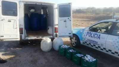 Secuestraron una importante cantidad de productos lácteos