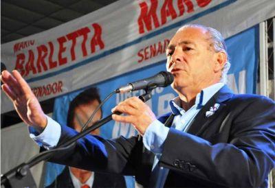 """Mario Barletta: """"Con la reforma en la Justicia quieren clonar a los Oyarbide"""""""