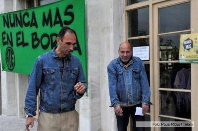 """Repudian la represión en el Borda con el grito de """"Nunca más"""""""