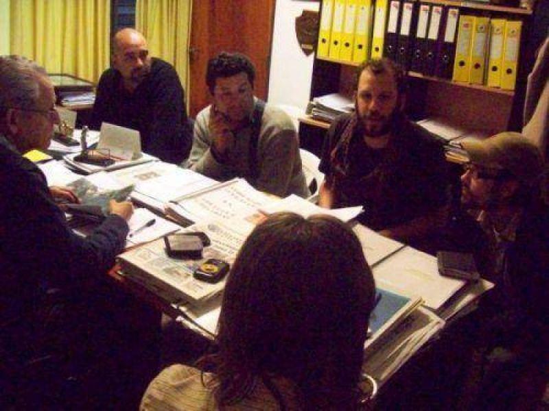 Soria Vieta recibió a representantes de Quebracho, ATE y Tareferos Unidos