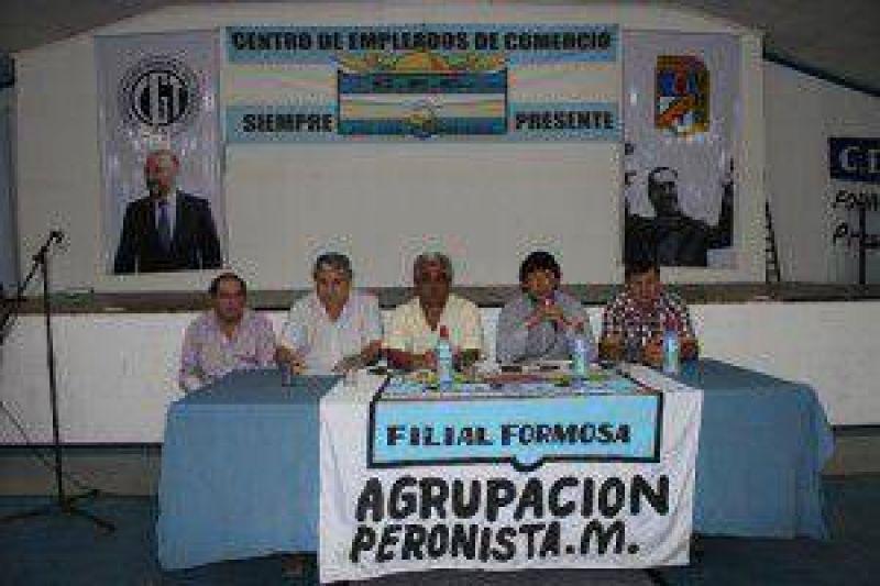 Hilario Martínez fue reelecto delegado en la CGT Formosa