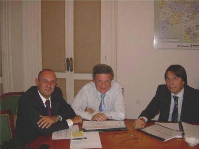 El intendente Guerrera se reunió con Oporto