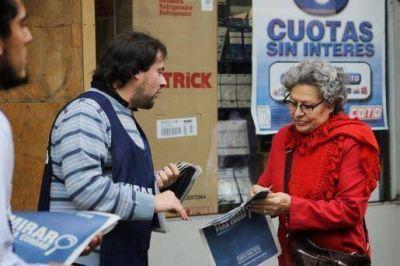 """Distribuyen información sobre el acuerdo de precios en el marco de campaña """"mirar para cuidar"""""""